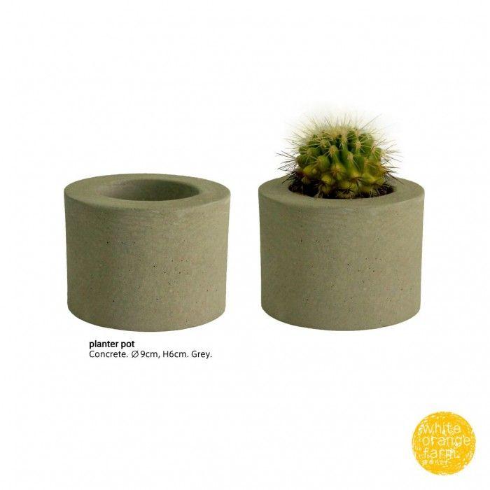 Planter Pot #whiteorangefarm #mosseash #handmade #concretedecor #concreteplanterpot #planterpot