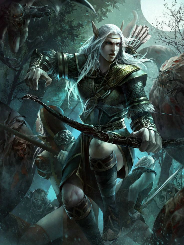 Image result for fantasy pictures of male ranger elves