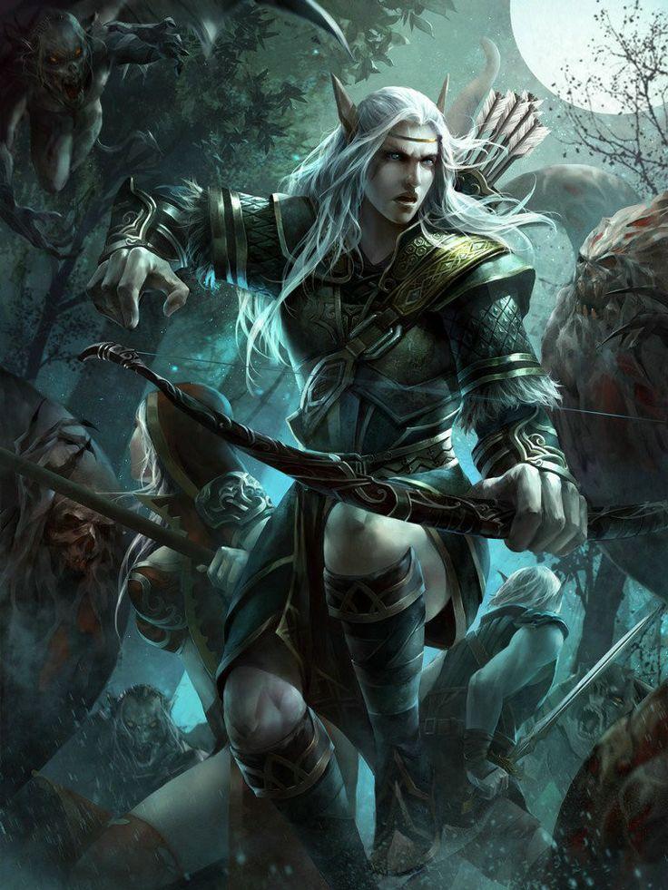 Image result for fantasy pictures of male ranger elves