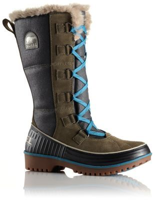 Women's Tivoli™ High II Boot: A fun winter boot blending waterproof suede  and canvas in an eclectic combo of style and function. Warm, comfy, and  protective ...
