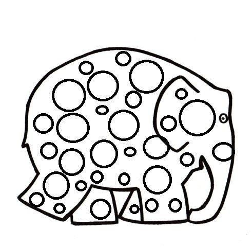 activité manuelle : formes géométriques : rond