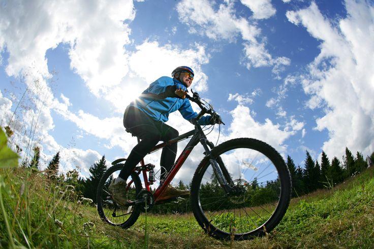 #Mountainbike fahren in #Vuokatti, #Finnland