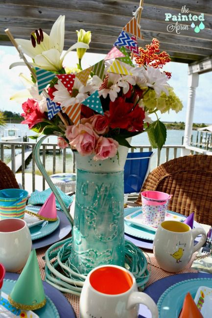 Tablescapes, Easter Birthday | The Painted Apron