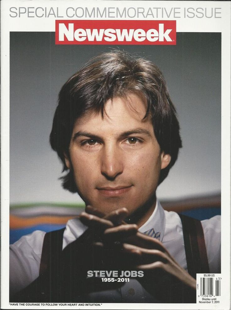 Newsweek magazine Steve Jobs Special issue Apple Macintosh Computers Photos Life