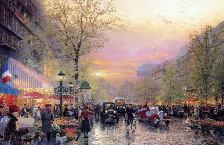 Paris - Thomas Kinkade