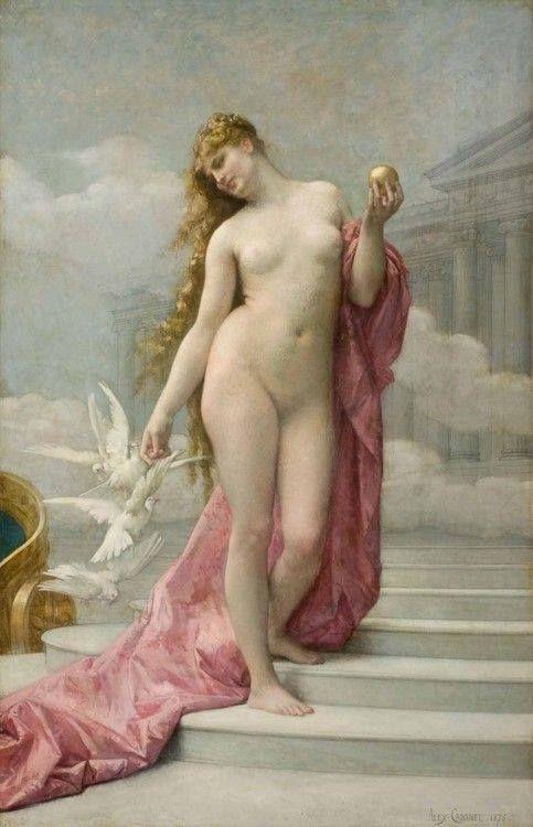 hourglassofblacktears: Alexandre Cabanel >> Venus >> 1875.