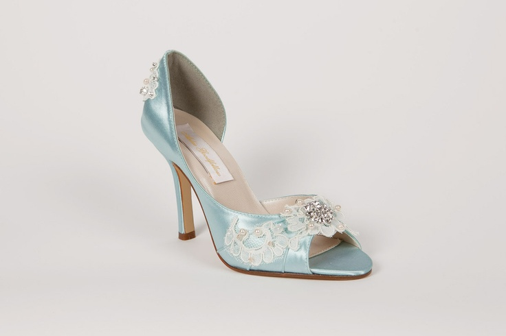Wedding Shoes - Light Blue Lace. $314.00, via Etsy. | Shoes ...