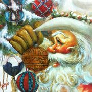 Texas Santa - 2 | Celia Meadors Art - Amarillo, Texas