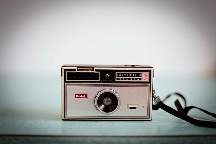Vintage Kodak Instamatic 104 Camera 1970s 126 Film by TheNeonOwl