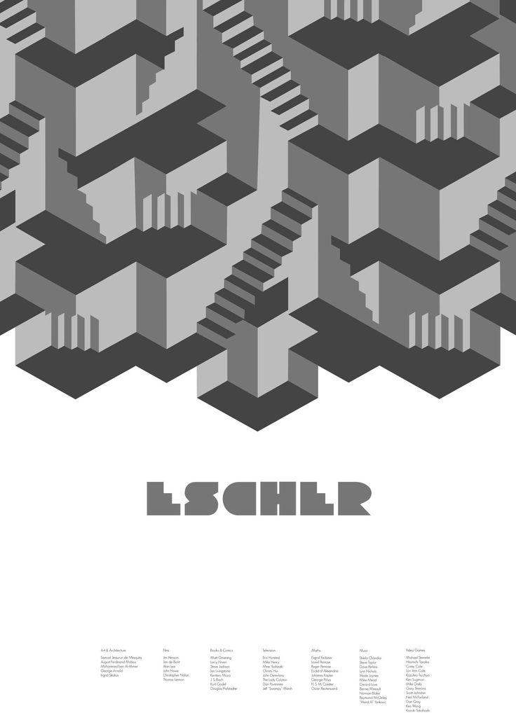 MC Escher poster // Nicky Sevior