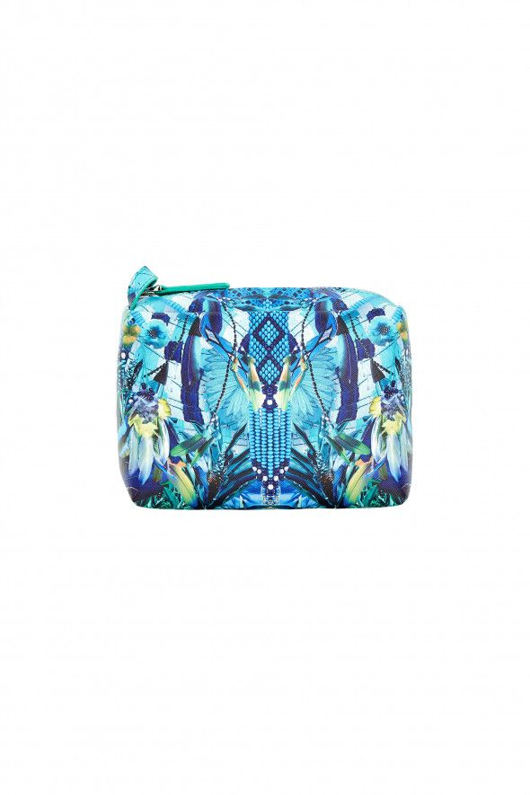 Camilla - Amazon Azure Small Makeup Bag