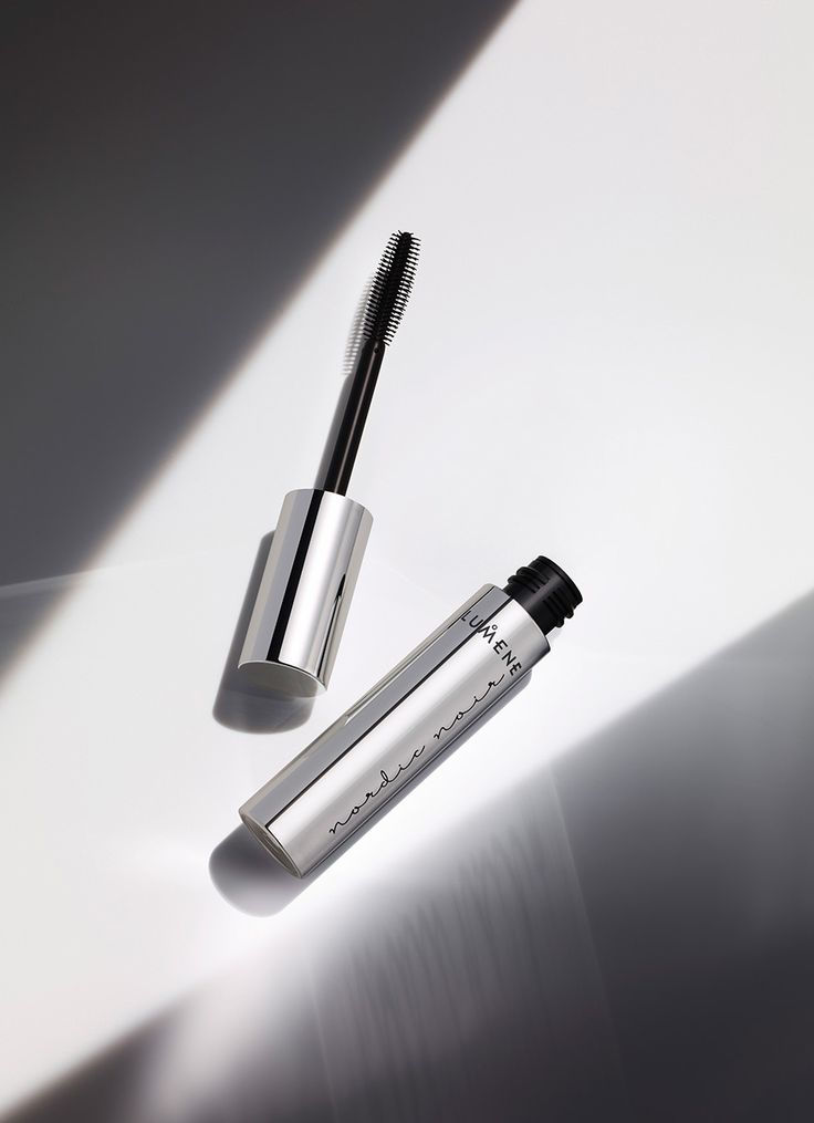 For glossy, voluminous lashes with premium makeup Lumene Nordic Noir Deep Impact Mascara. #lumene #Nordic Noir