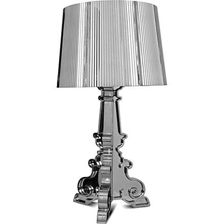 Kartell bourgie table lamp chrome
