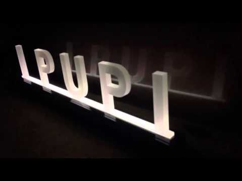 Led #display #luminous #advertising #led #lettering #expositor #inventivapubblicitaria #newentry - YouTube