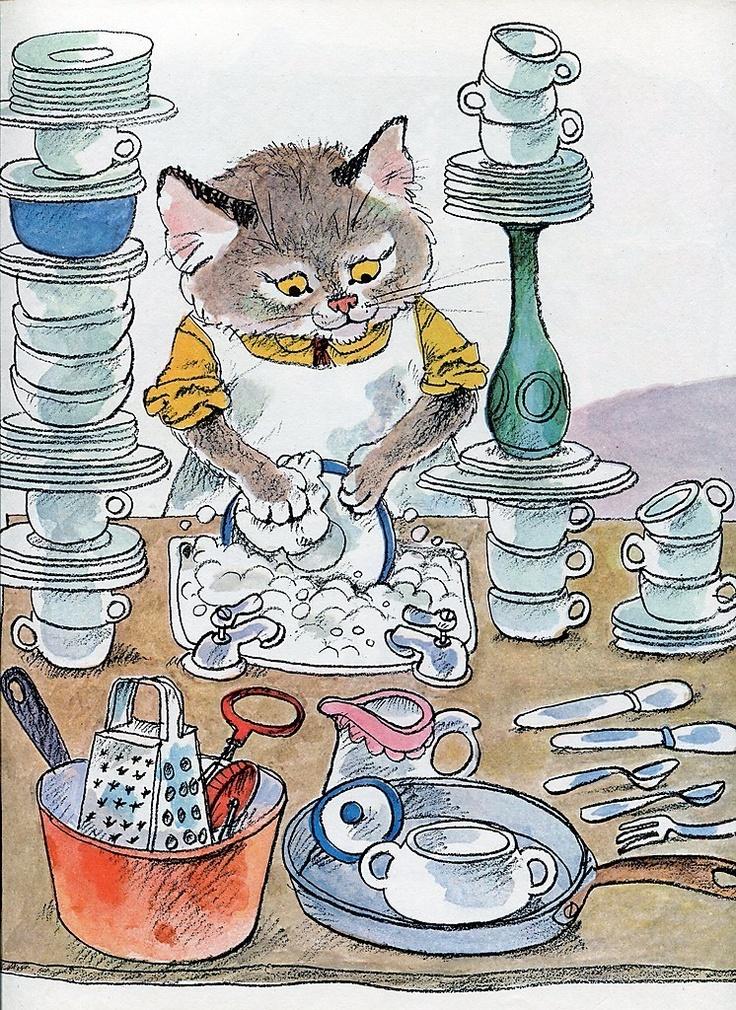 Richard Scarry illustration   eBay