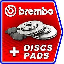 FORD-MONDEO-FRONT-GENUINE-BREMBO-BRAKE-DISCS-AND-PADS-2000-2007