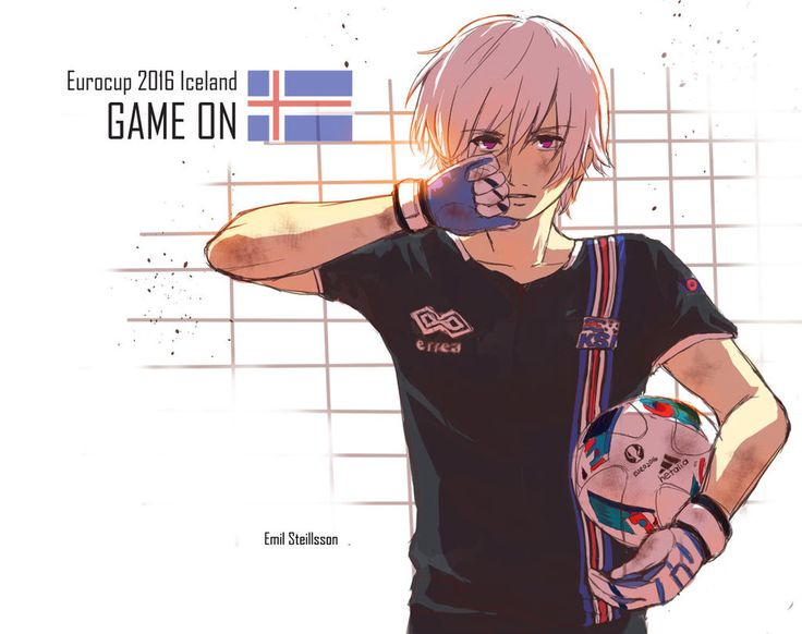 //Iceland did it he is going on to the quarter-finals, and I love this picture of him.   Iceland Eurocup 2016 by JazzLassie6020