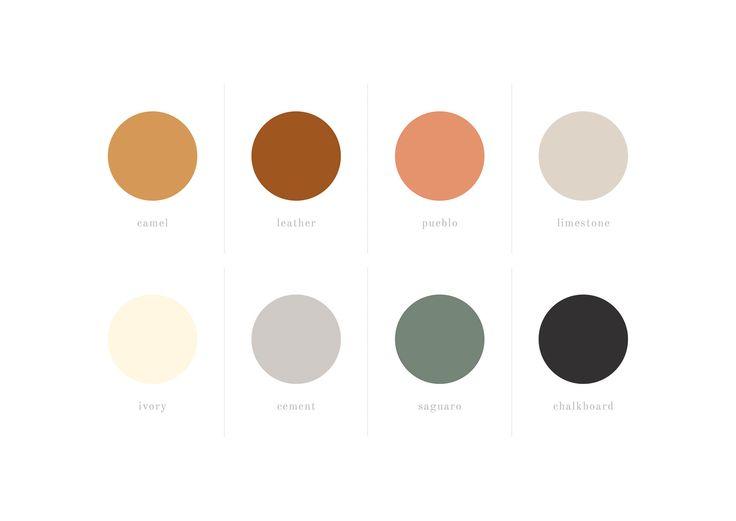 Stoll Studio Art & Design Color Palette by Reverie House Studio