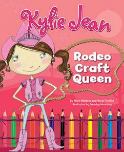 CS STAMPEDE- AGE 6+ - Kylie Jean Rodeo Craft Queen by Mary Meinking , Marci Peschke Howdy y'all! It's Kylie Jean. Did I tell you that I'm the Rodeo Queen? It took some mighty hard work to win that crown. Do you want to be the Rodeo Queen too? Well you won't have to work too hard to make a pink cowboy hat like mine. You can even make a horse, just like my Star! Now get to work!