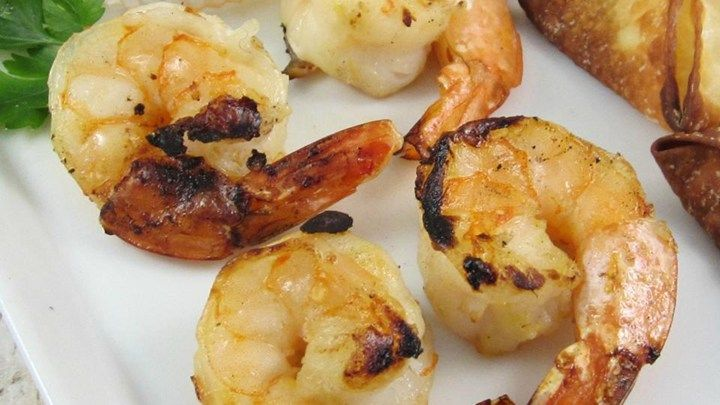 Deep-sea spot prawns are delicious, perhaps better than lobster, in this spicy sweet marinade.