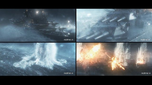 I was Lead on the World of Warships trailer at RealtimeUK. This is a breakdown of some of my VFX work that I did for the trailer.     Checkout the full trailer on the RealtimeUK page here:- https://vimeo.com/98350121  Further breakdowns on the RealtimeUK page here:- https://vimeo.com/98352245    Thanks to Alejandro Echeverry for developing the following Houdini tools for Realtimeuk:-  Foam Tool - DOP Particles - https://vimeo.com/87351054  Splash Tool - SOPs - https://vimeo.com/87351053