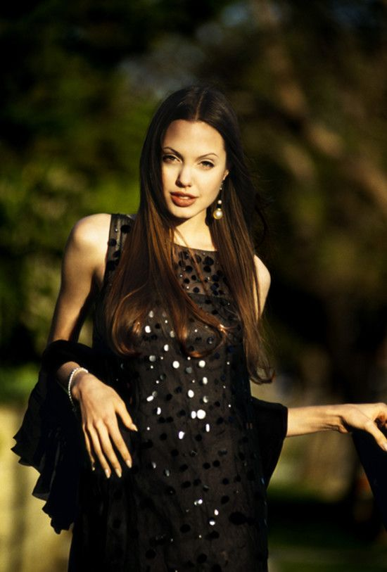 Angelina Jolie: Current age: 38 Career at 20: Angelina's first major film, Hackers, debuted in 1995.  Relationship at 20: On the set of Hackers, Angelina began a romance with her British costar,  Jonny Lee Miller. They married on March 28, 1996, when Angelina was 20 and Johnny was 23. The bride wore rubber pants and a white t-shirt that had the groom's name written in her blood.  Quotes at 20: Angelina didn't try to hide her drug experimentation, like many starlets do today. In an interview…