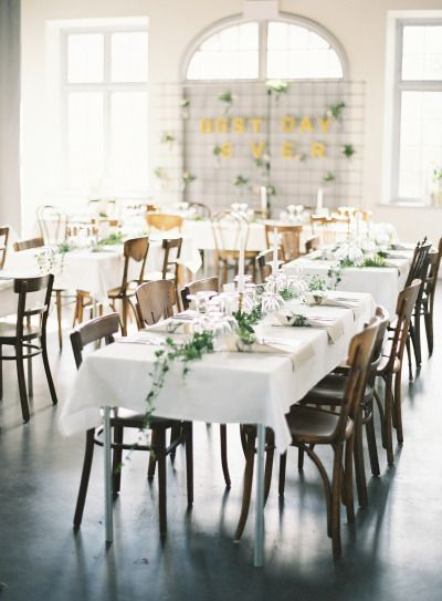Wedding table inspiration: http://www.stylemepretty.com/2015/02/05/romantic-cultural-infused-swedish-wedding/ | Photography: 2 Brides - http://2brides.se/