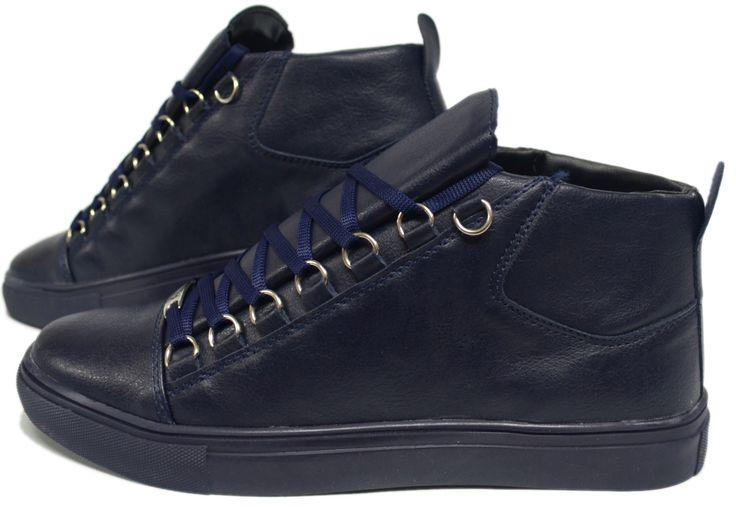 Heren Blauwe Hoge Sneaker HCS062 | Modedam.nlDe mooiste heren schoenen bestelt u in onze winkel. Bij ons vindt u verschillende betaalbare sneakers, nette schoenen en sport schoenen. U vindt gegarendeerd de exclusieve schoenen die u outfit compleet maakt. Bekijk ons collectie!!! Er is vast wel een sc