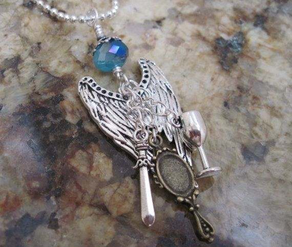 The Mortal Instruments necklace - nephilim wings and the ...