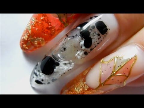 SNOW GLOBES / WATER GLOBE NAILS ( REAL ) ----THE TUTORIAL * LEARN HOW * - YouTube