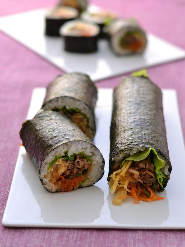 ビビンバ風恵方巻 by 西山京子/ちょりママ | レシピサイト「Nadia | ナディア」プロの料理を無料で検索
