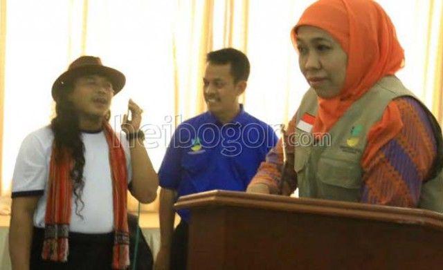 Menteri Khofifah Launching Call Center Sahabat Adiksi 171 www.heibogor.com
