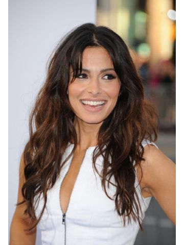 Sarah Shahi Lace Front Long Synthetic Curly Wig
