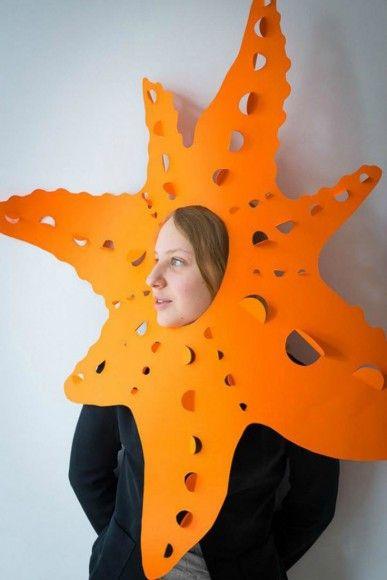 Starfish paper craft for kids