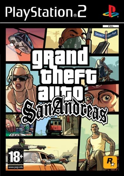 GRAND THEFT AUTO SAN ANDREAS PS2