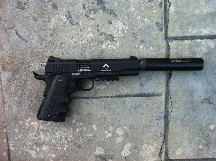ATI 1911 Silencerco Sparrow also warlock and for rifle the