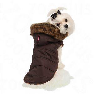 Cappotto per cani Pinkaholic® Relic Coat marrone