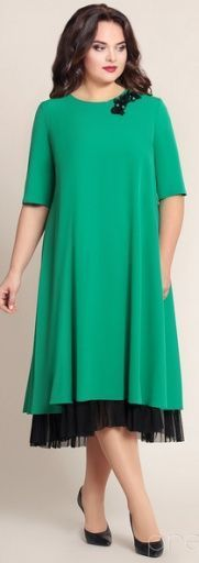 Платья для полных. Модели вечерних платьев для полных женщин и девушек - фото