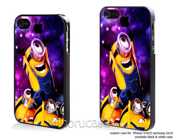 Hey, I found this really awesome Etsy listing at http://www.etsy.com/listing/163768952/minion-galaxy-new-custom-case-for-iphone