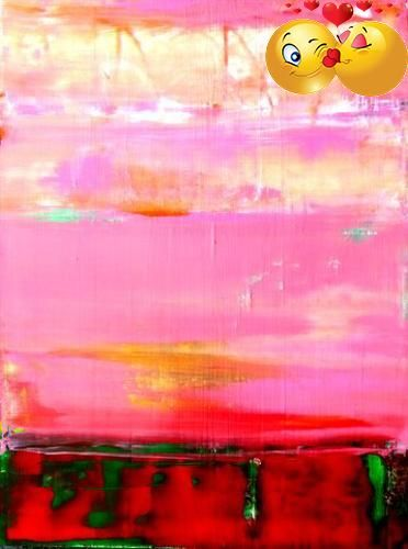 #photo Abstract, Contemporary, Modern and #Original Art. Acrylic on canvas. Size: 30x40x1.5 inches. A mixed media work created using spatulas and #brushes. I use ...
