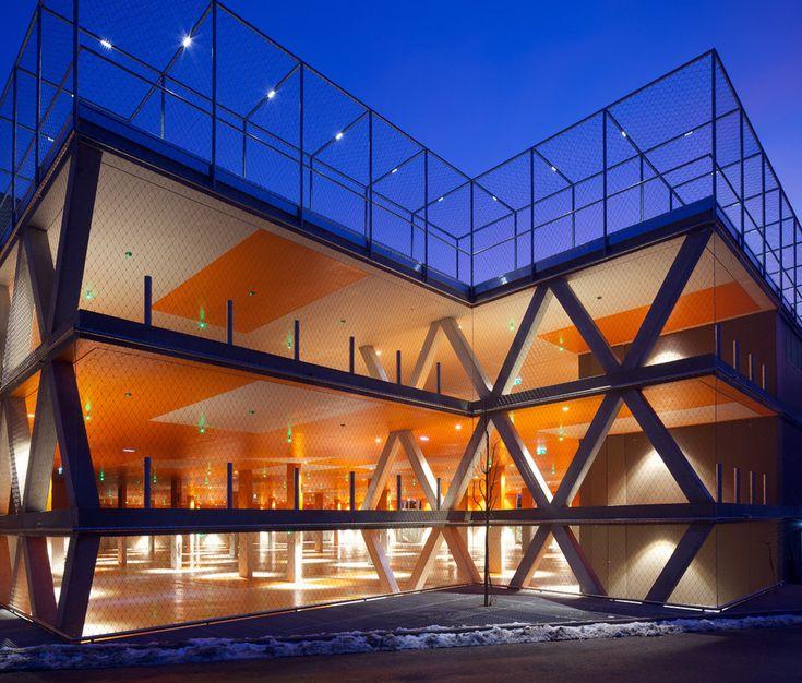 Galeria de Estacionamento do Festival de Erl / Kleboth Lindinger Dollnig - 8