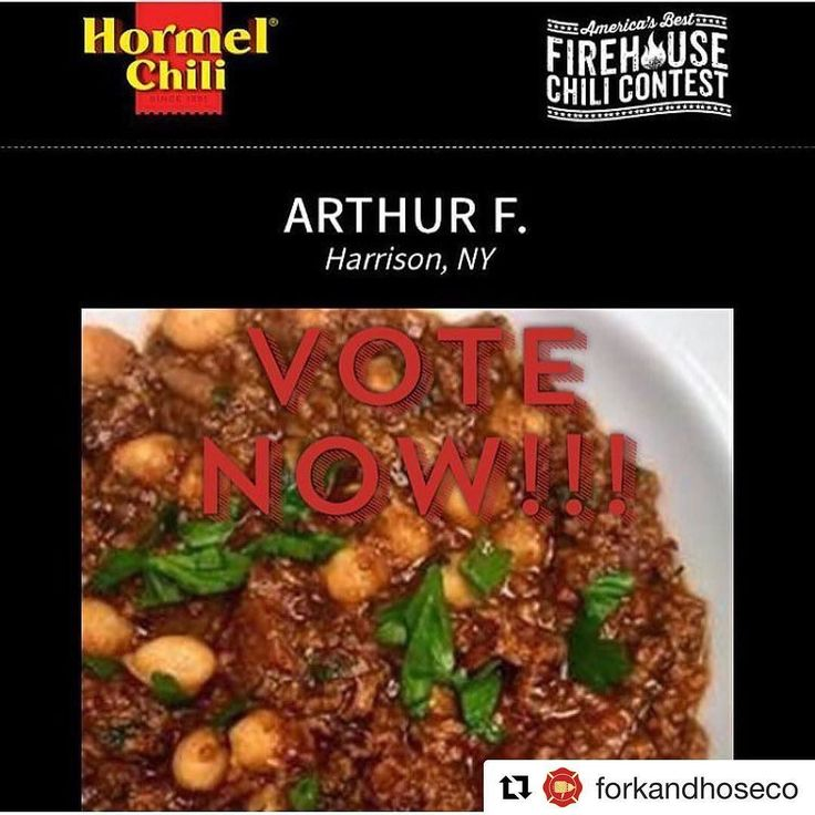 #Repost @forkandhoseco  Did you vote today!?!? Help me win the @hormelfoods Firehouse Chili Contest and support the @nationalfallenfirefighters too!  Click the link in our bio or go to http://ift.tt/2sCfr4r and vote for Arthur F....and yes thats my name  Thanks guys!!!!!!!  Dont forget to tag us @forkandhoseco! @chief_miller @555fitness #forkandhoseco #firehousecookin  #firefighterfit #555fitness #555eats #555chef #firehousechef #IAFF #firehousefitness #trainharddowork #foodnetwork…