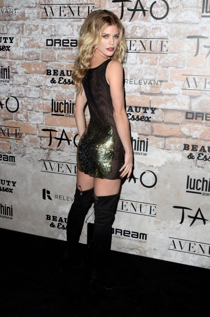 FunFunky.com Annalynne Mccord – Tao Group La Grand Opening Block Party : Global Celebrtities (F)