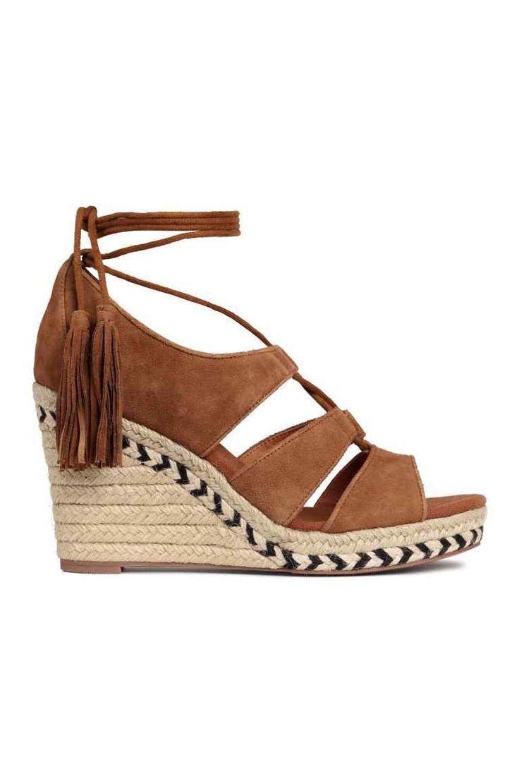Sandales en daim | H&M
