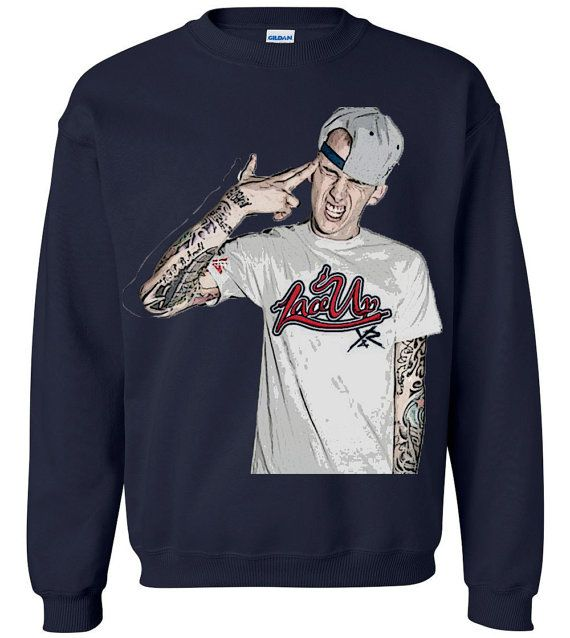 MGK Lace Up Crewneck by FinalJudgement on Etsy, $20.00