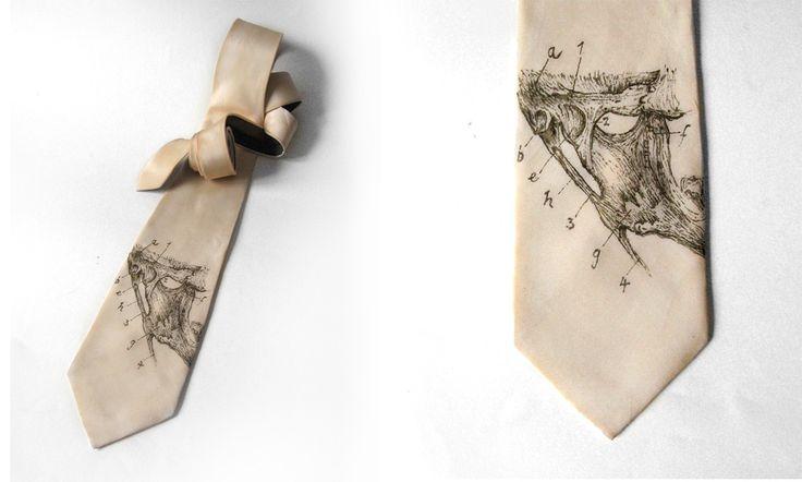 Kravata s obrázkem na přání Kravata s motivem i podkladem na přání zákaznice