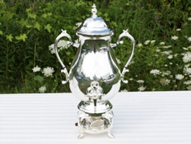 Coffee Urn Silver Plated - 50 Cup