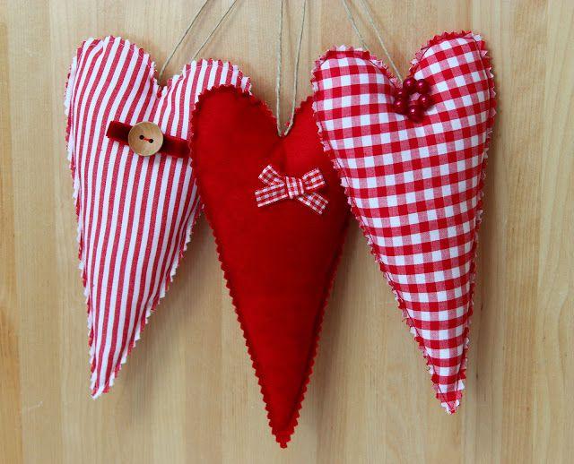Corações de Natal