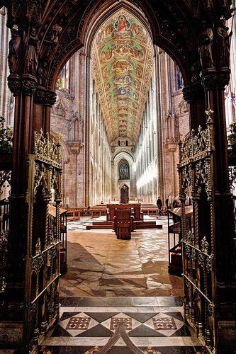 The Norman Ely Cathedral, Cambridgeshire, England   by Cathedrals and Churches of Great Britain