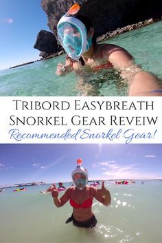 I have used this and it is the best. Easiest way to snorkel and I only snorkel with this now. Can breath easy and see great underwater. Love it! / Tribord Easybreath.